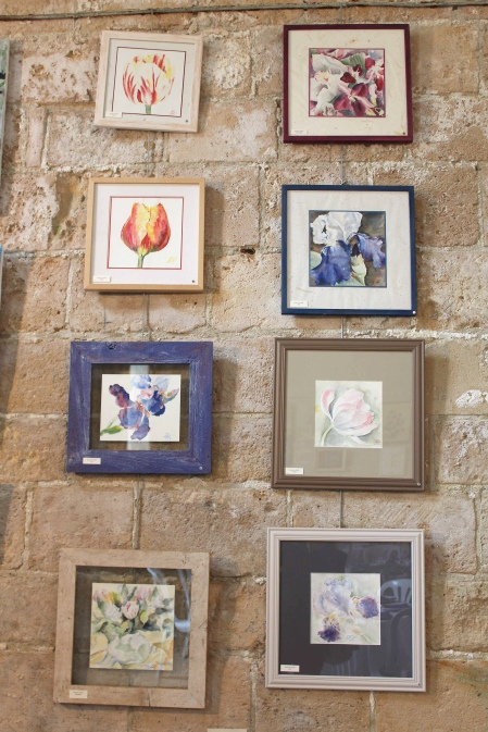 Hommages aux artistes Inner Wheel, Abbaye Saint-Arnoul