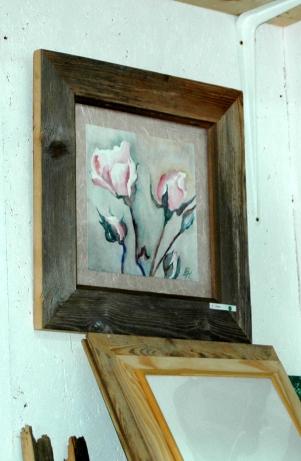 roses roses, aquarelle